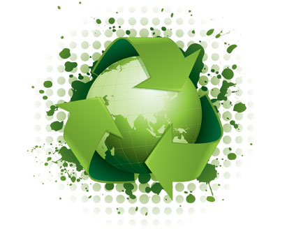 green-recycling-concept